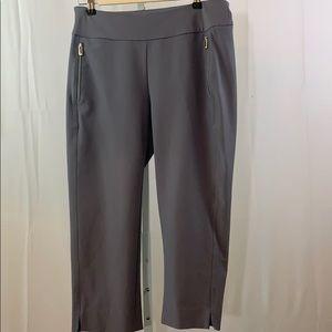 TAIL Golf Pants Gray Cropped SZ 10